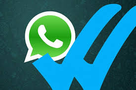 vistos azules whatsapp